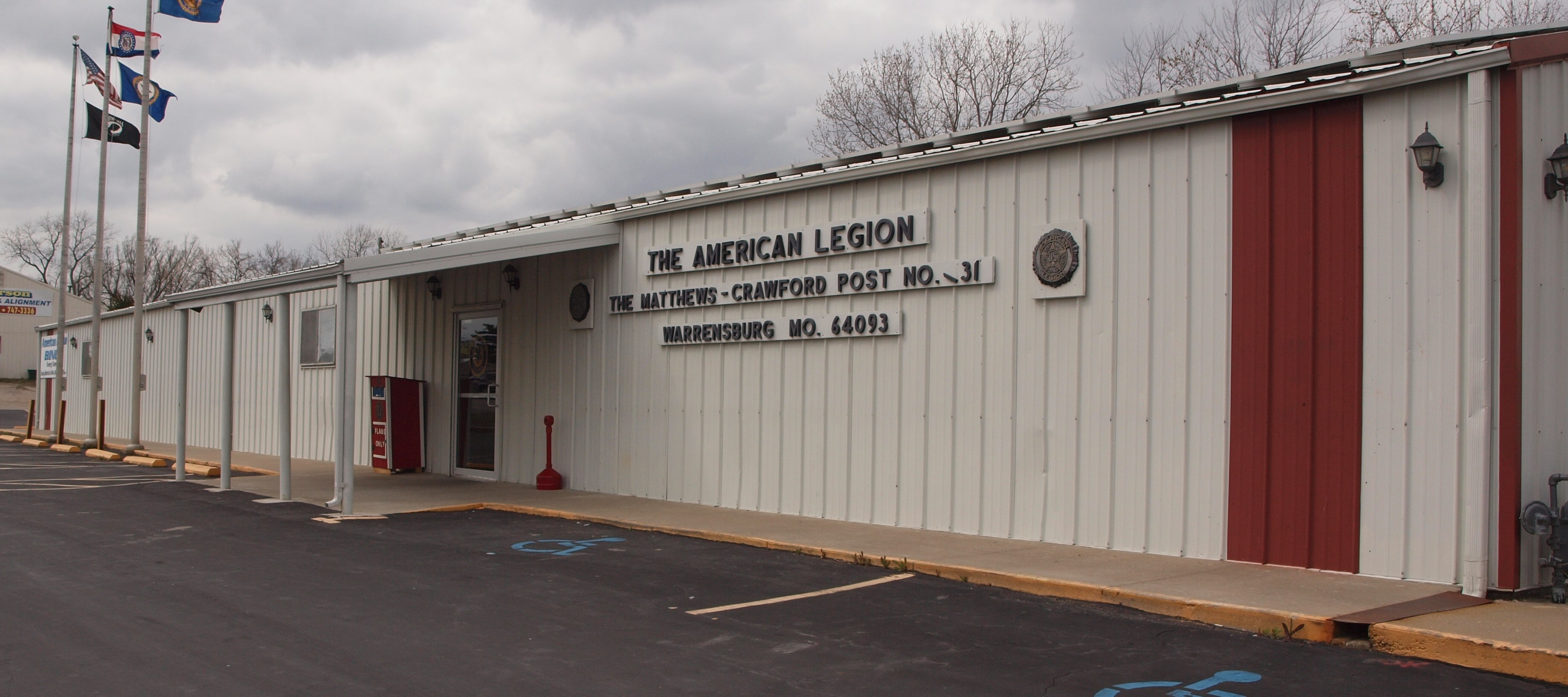 American Legion Post 131, Warrensburg, MO